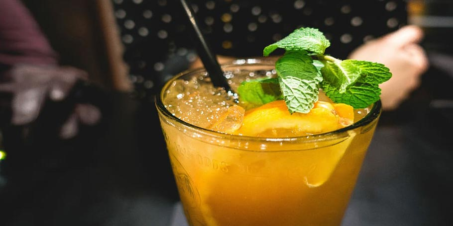 Mango Lemon Margarita Mocktail